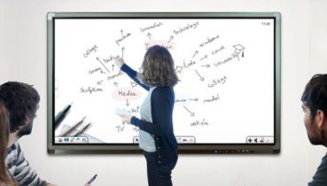 ecran et tableau blanc interactif